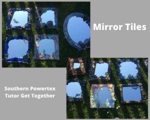 Powertex mirror tiles